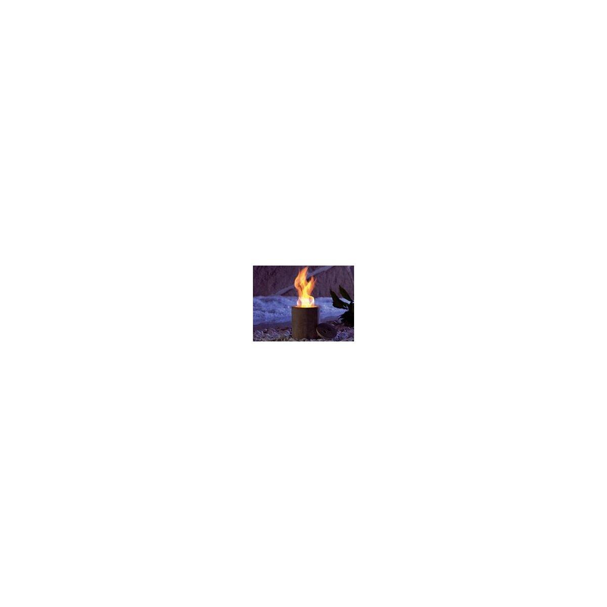 Carlo Milano Terracotta-Feuer Colonna für Bio-Ethanol
