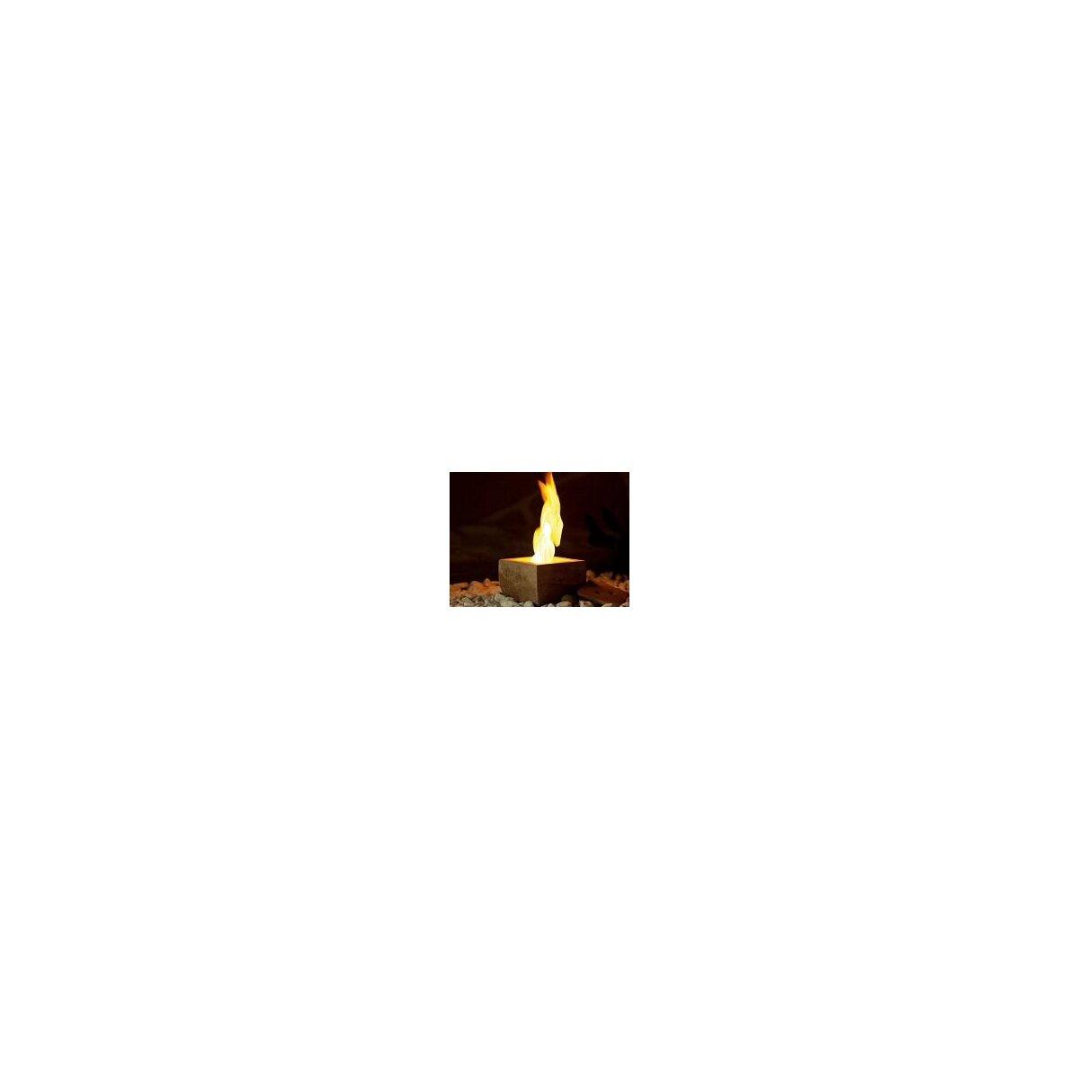 Carlo Milano Terracotta-Feuer Scodella für Bio-Ethanol