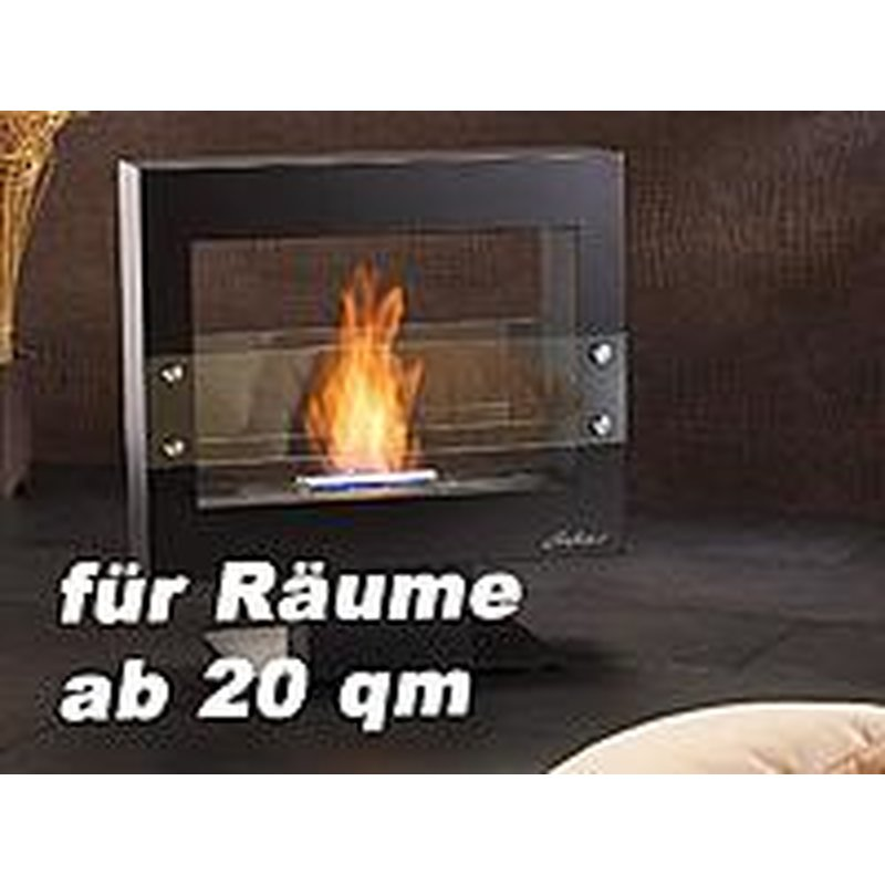 carlo milano offener deko kaminofen bio ethanol mit standfu chf. Black Bedroom Furniture Sets. Home Design Ideas