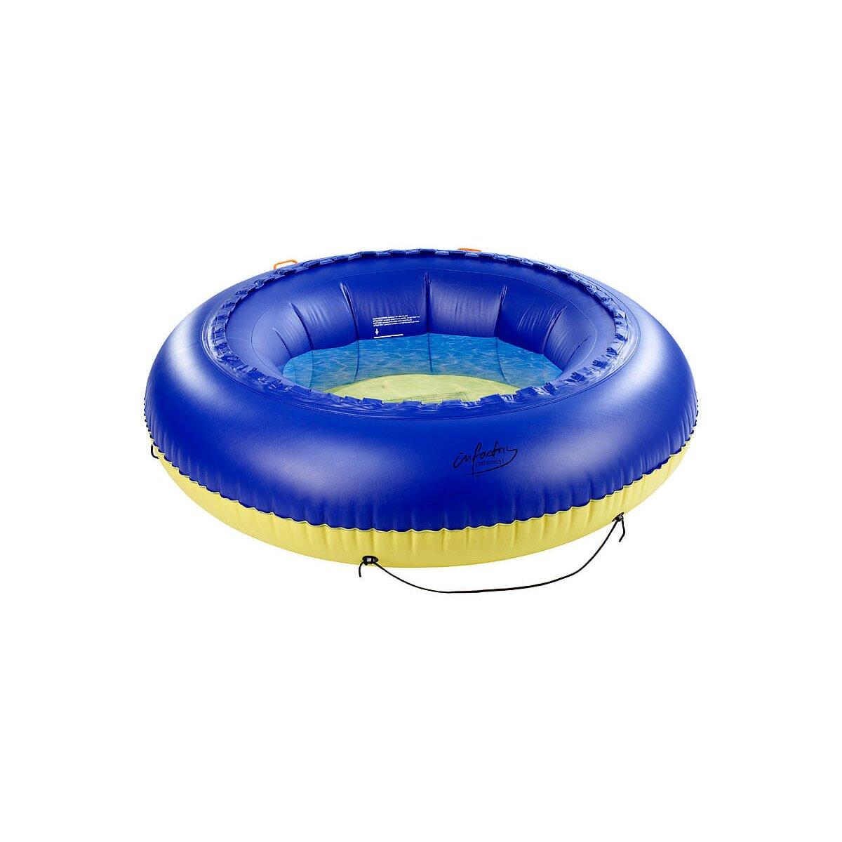 infactory 4in1 trampolin f r wasser und garten chf. Black Bedroom Furniture Sets. Home Design Ideas