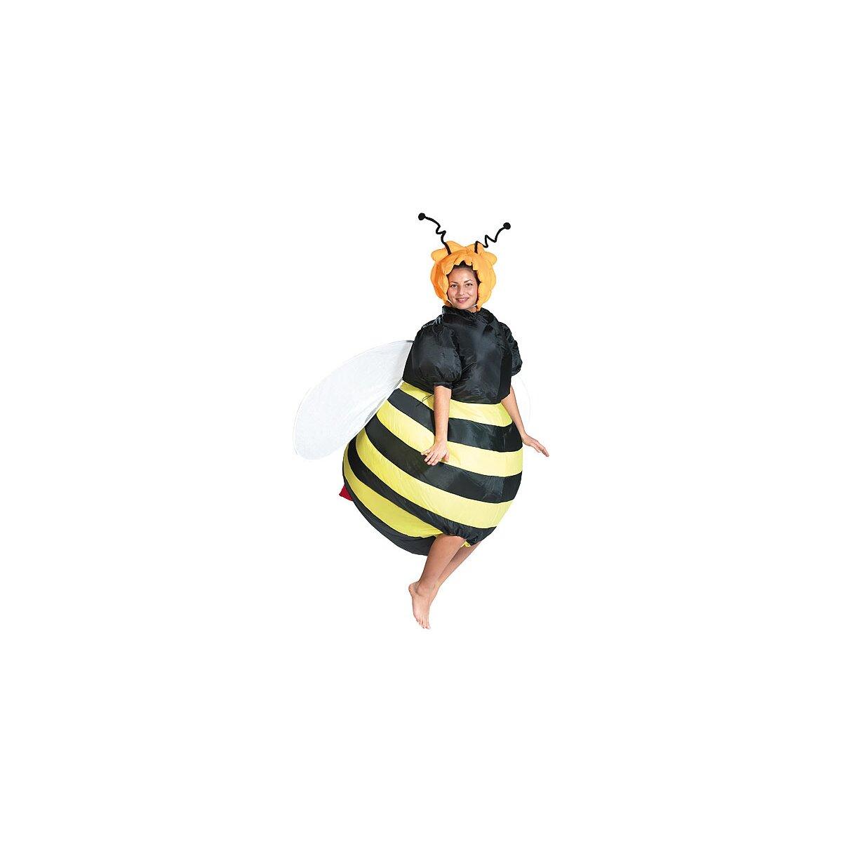 Playtastic Selbstaufblasendes Kostüm Biene