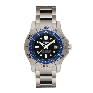 Traser Diver Long-Life Blue Limited Edition